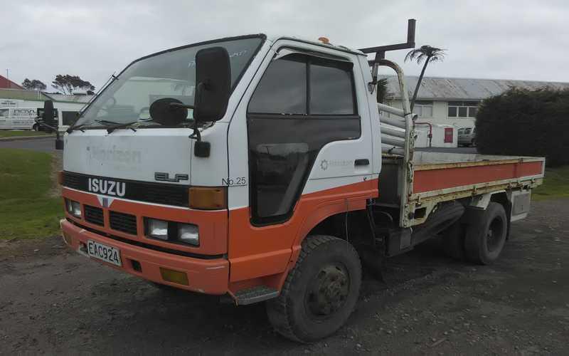 ISUZU - Taranaki Truck Dismantlers parts wrecking and dismantling