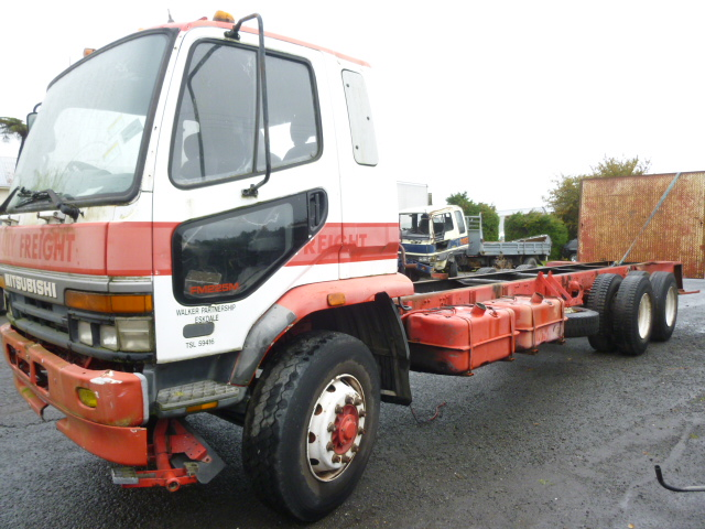 Mitsubishi truck wreckers Auckland